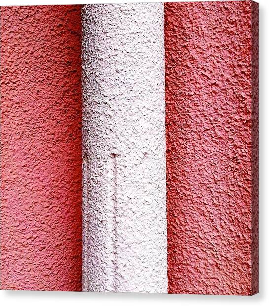 Architecture Canvas Print - Column Detail by Julie Gebhardt