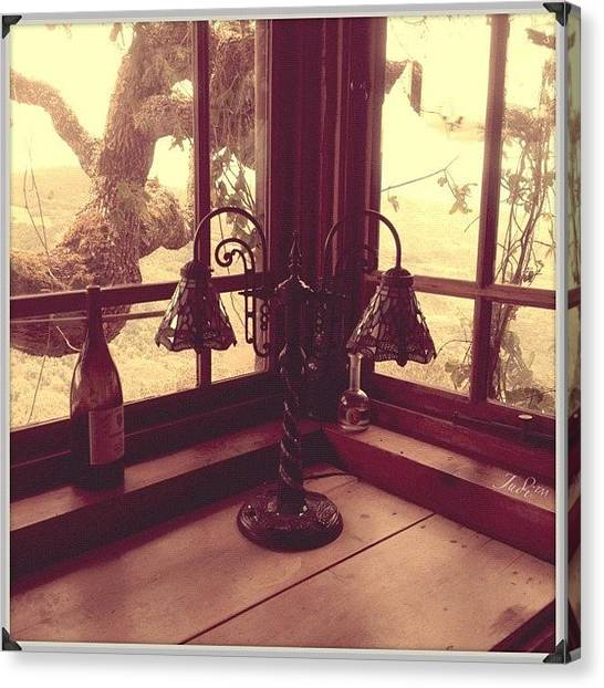 Vineyard Canvas Print - *ْcome To My Window, I'll Be Home by Judi Lacanlale