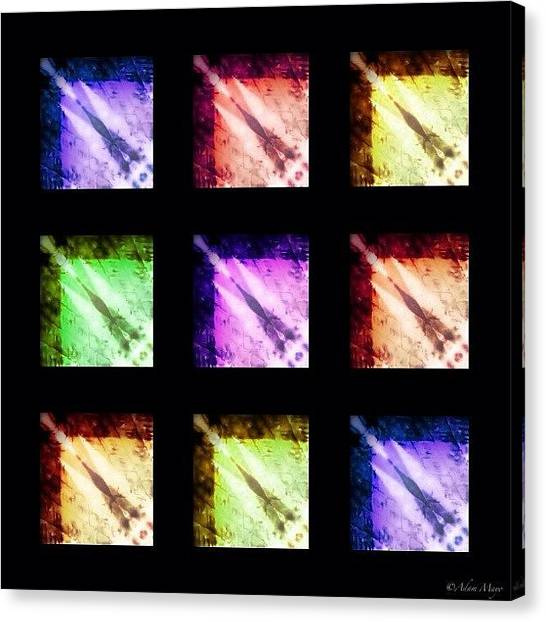 Iphone 4 Canvas Print - Comets - Not The Powdery Cleaner by Photography By Boopero
