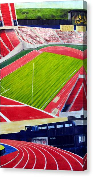 Commonwealth Stadium- Competition Canvas Print by Chris Ripley