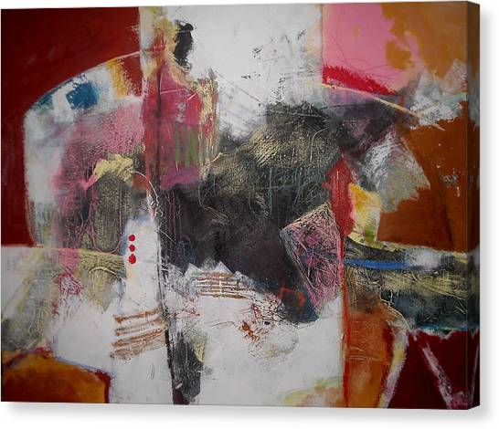 Composition 1 Canvas Print by Mohamed KHASSIF