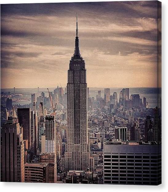 Skylines Canvas Print - Concrete Jungle - New York by Joel Lopez