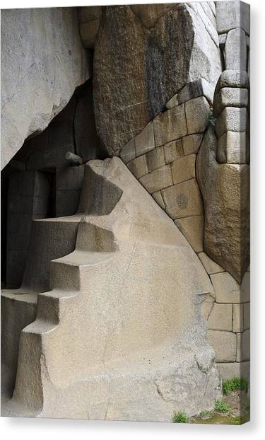 Condors Canvas Print - Condor Temple, Machu Picchu, Peru by Matthew Oldfield