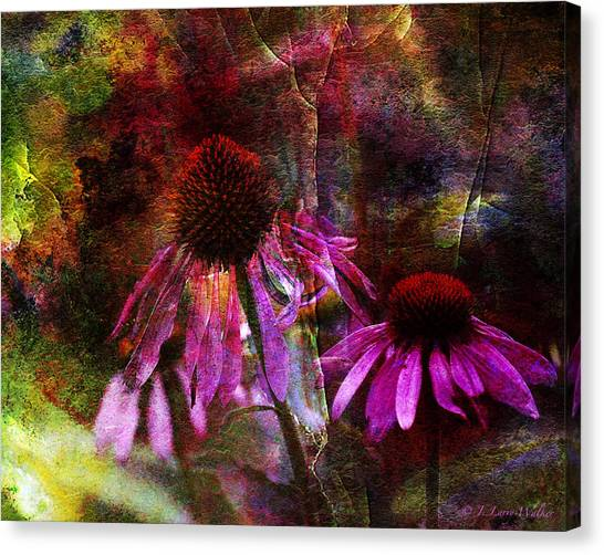 Cone Flower Beauties Canvas Print