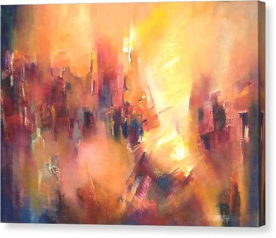 Confluence Canvas Print by Alicia Valdivia