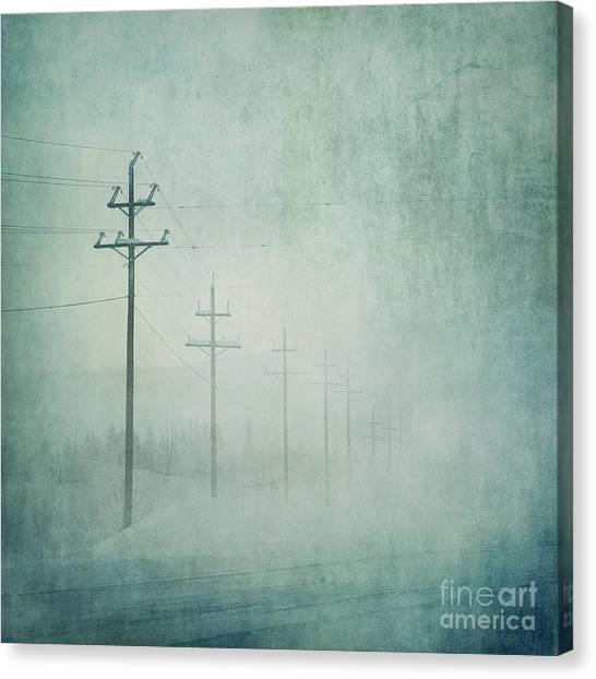 Utility Canvas Print - Connenction by Priska Wettstein