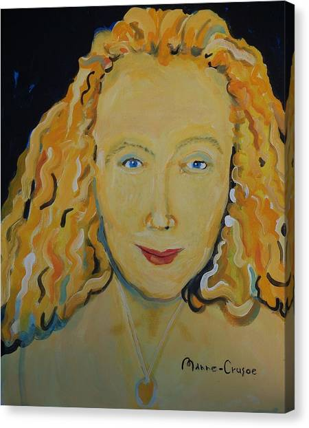 Connie Crothers Canvas Print by Jay Manne-Crusoe