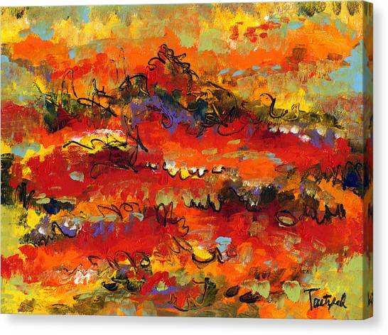 Contemporary Art Twenty Canvas Print