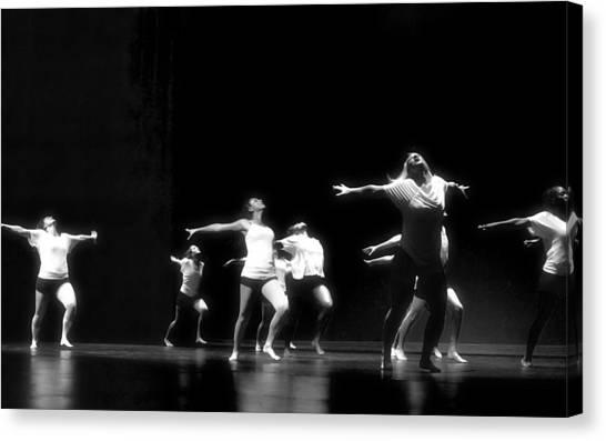 Contemporary Dancers Canvas Print