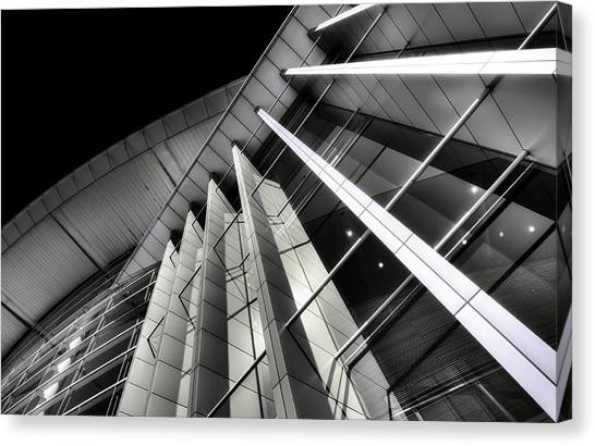 Adelaide city canvas print convergence by wayne sherriff