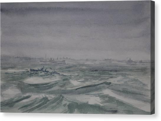 Convoy Canvas Print