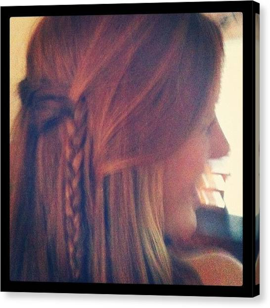 Farmers Canvas Print - Cool Braid :) by Katie Farmer