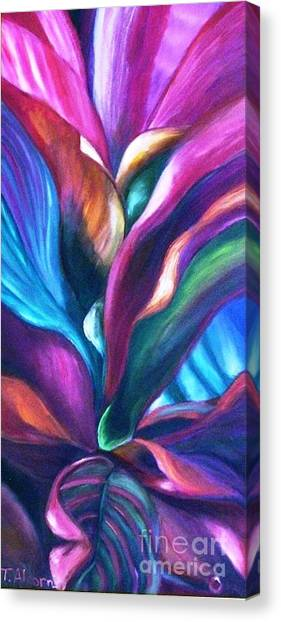 Cool Cordylines Canvas Print