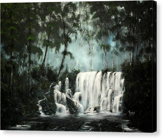 Cool Waters Canvas Print by Daniel Toney