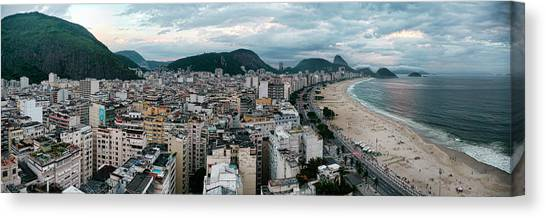 Copacabana Sunset Canvas Print