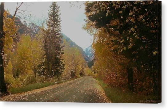 Copper Lane Canvas Print
