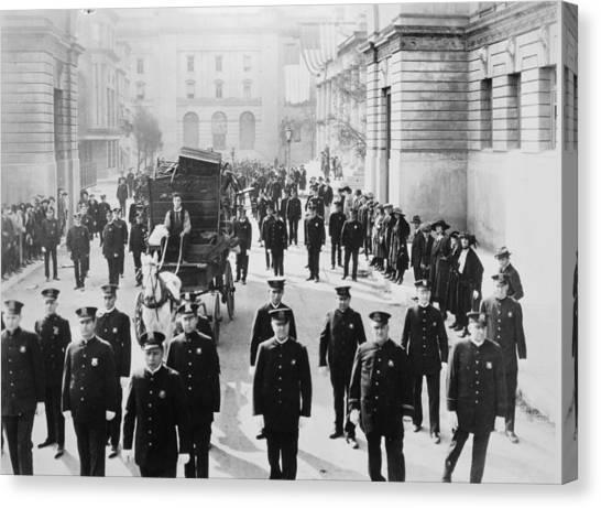 Cops, 1922 Canvas Print by Granger
