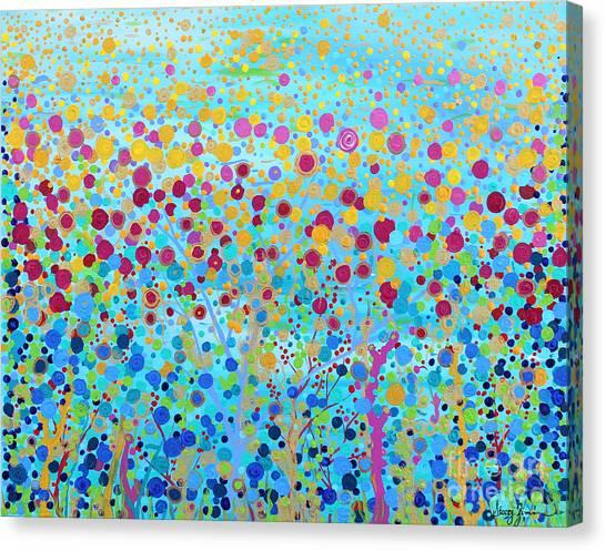 Coral Symphony Canvas Print