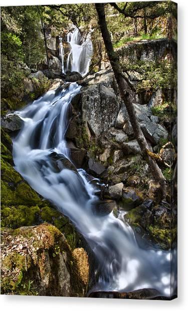 Corlieu Falls Canvas Print