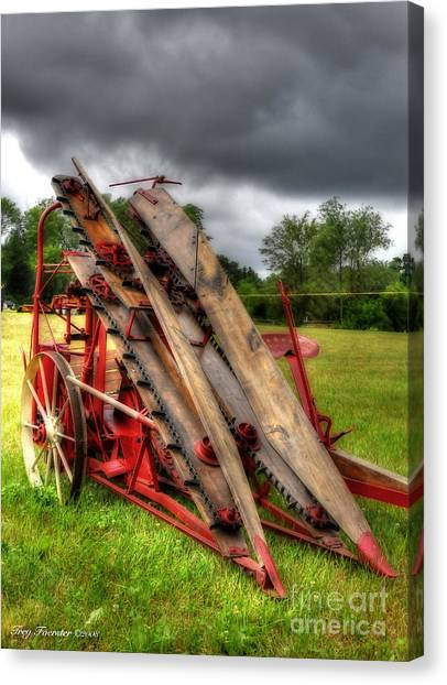 Corn Binder Canvas Print