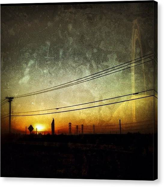 Saturn Canvas Print - Corron... #xtrillion #corron #scifi by Glen Campbell