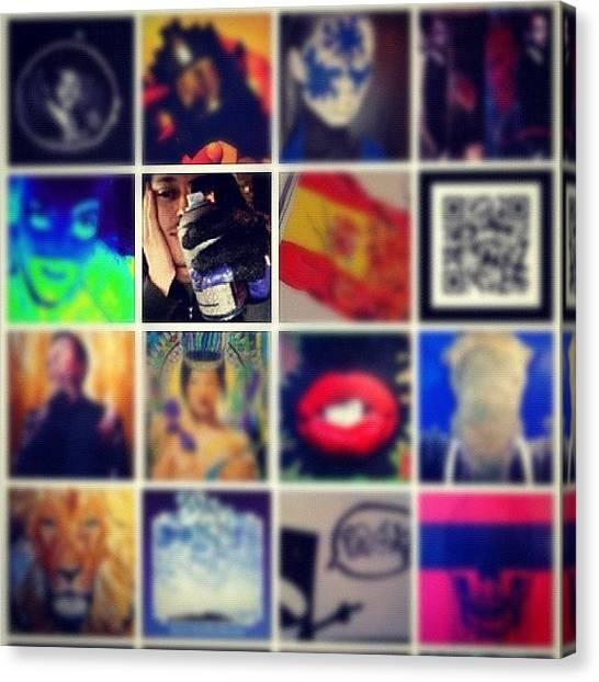 War Canvas Print - Cosas #art #arte #artwar #fotos#acrylic by Art War