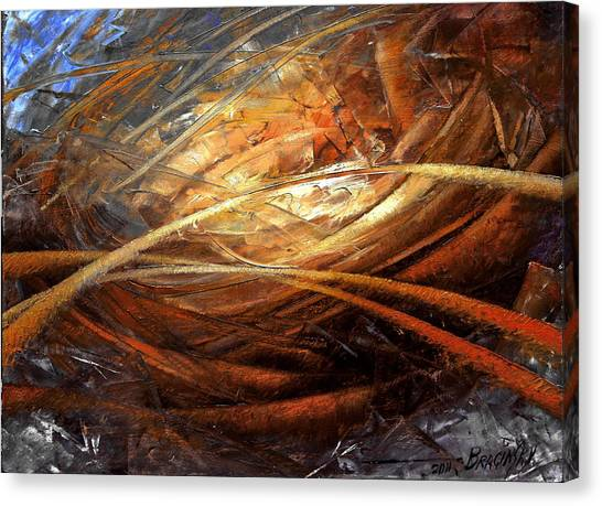 Futurism Canvas Print - Cosmic Strings by Arthur Braginsky