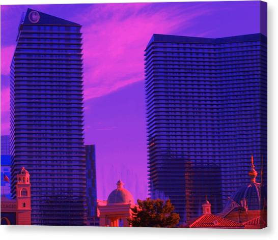Cosmopolitan Sunset Canvas Print