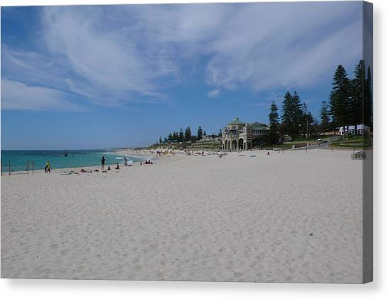 Cottesloe Beach Perth Canvas Print by Gregory Smith