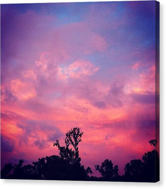 Hurricanes Canvas Print - Cotton Candy Skies #beautiful by April J