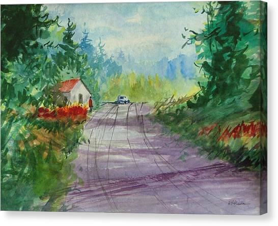 Country Road I Canvas Print