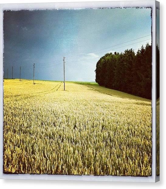 Swiss Canvas Print - Countryside Of Switzerland by Urs Steiner