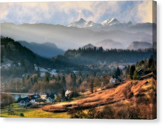 Countryside. Slovenia Canvas Print