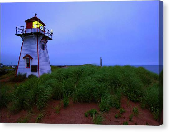 Prince Edward Island Canvas Print - Cove Head Lighthouse by Rick Berk
