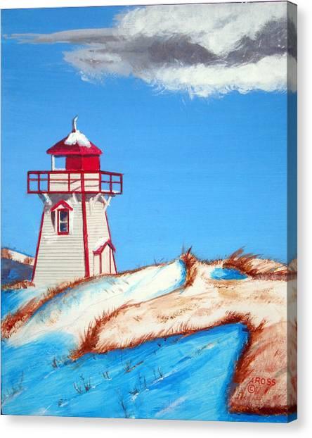 Covehead Harbor Light Canvas Print