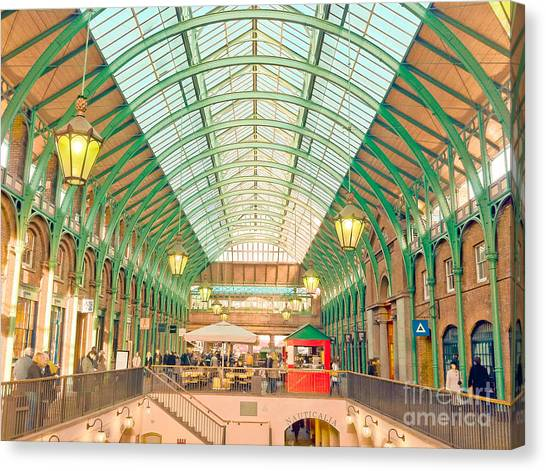Covent Garden Canvas Print by Damien Keating
