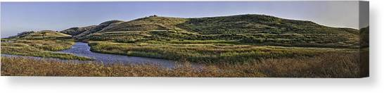 Coyote Hills Regional Park Canvas Print by Nathaniel Kolby