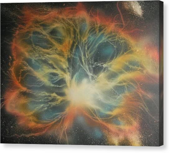 Crab Nebula 2 Canvas Print by DC Decker