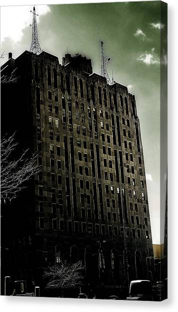 Crack Zombie Apocalypse 2 Canvas Print by Scott Hovind