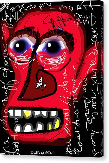 Crackhead 2 Canvas Print