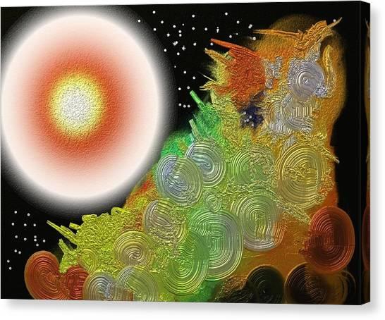 Creation's Beginning  Canvas Print