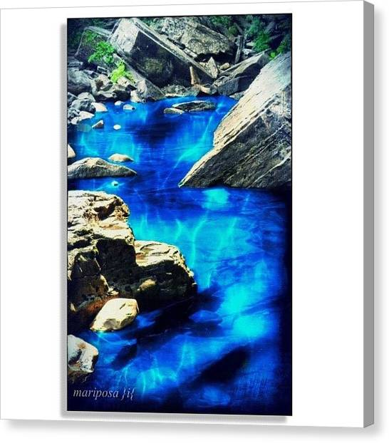 Ponds Canvas Print - Creek by Mari Posa