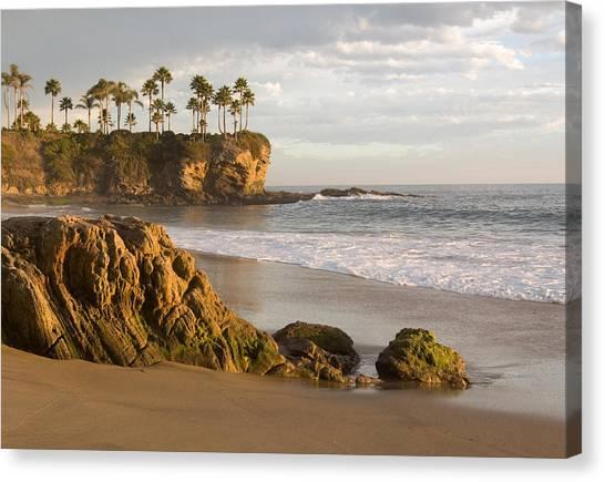 Crescent Bay Beach Laguna Canvas Print