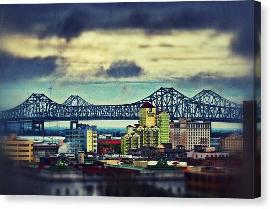 Crescent City Connection Canvas Print
