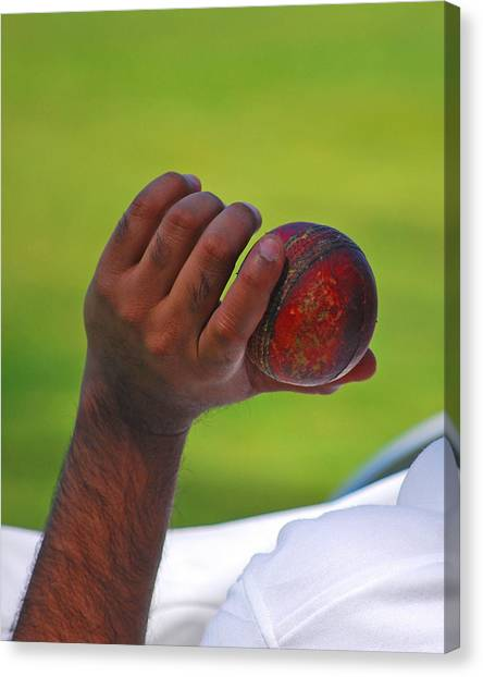 Germantown Cricket Club Canvas Print - Cricket Anyone by Lisa Phillips