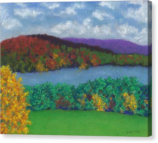 Crisp Kripalu Morning Canvas Print
