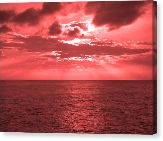 Cromer Sky Canvas Print by Julian Smith