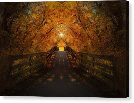 Crossing Over - Color Canvas Print