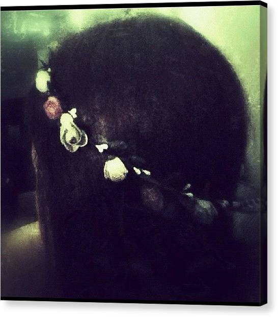 The Crown Canvas Print - #crown#braid#hair #hairstyle by Jenni Martinez