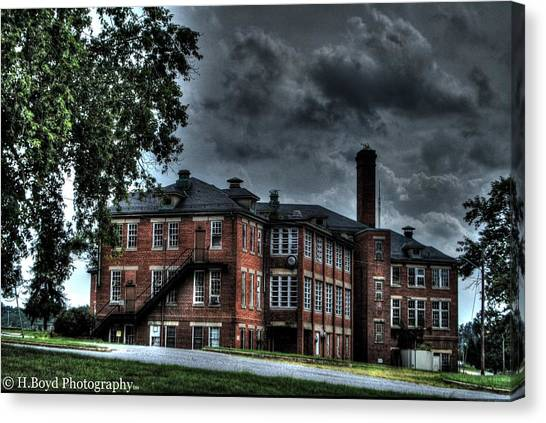 Crownsville Main Canvas Print by Heather  Boyd